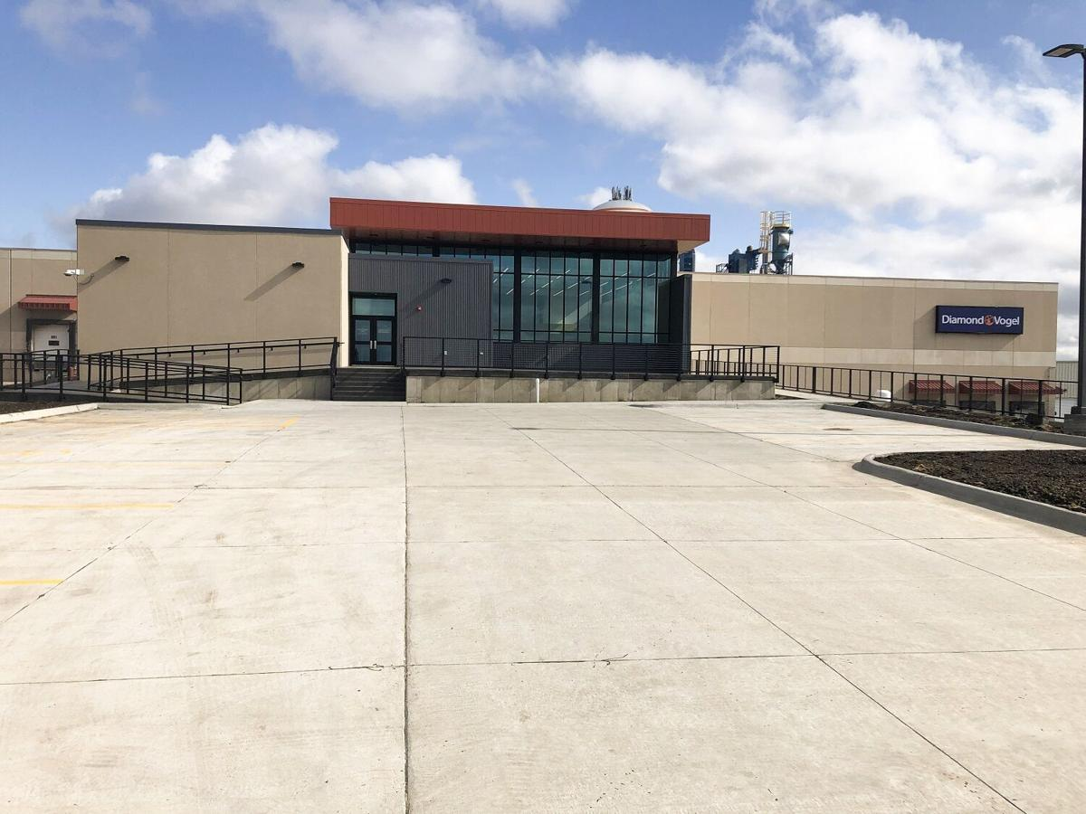 Diamond Vogel completes facility projects