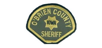 O'Brien County Sheriff's Office shoulder patch