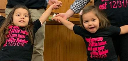 Daughters bring joy