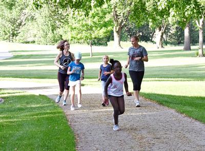 Healthy Heroes run club for kids