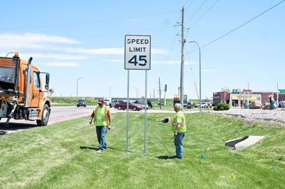 New speed limit in Sheldon