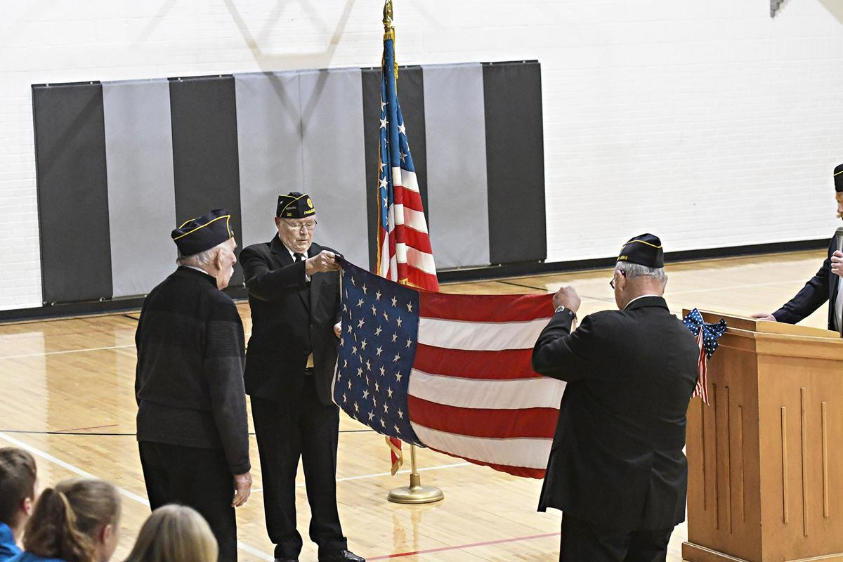 South O'Brien Veterans Day program