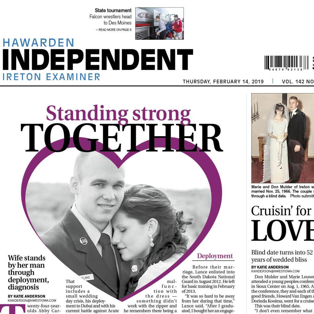 Hawarden Independent/Ireton Examiner Feb. 14, 2019
