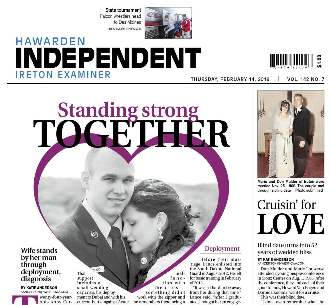 Hawarden Independent/Ireton Examiner Feb. 14, 2019