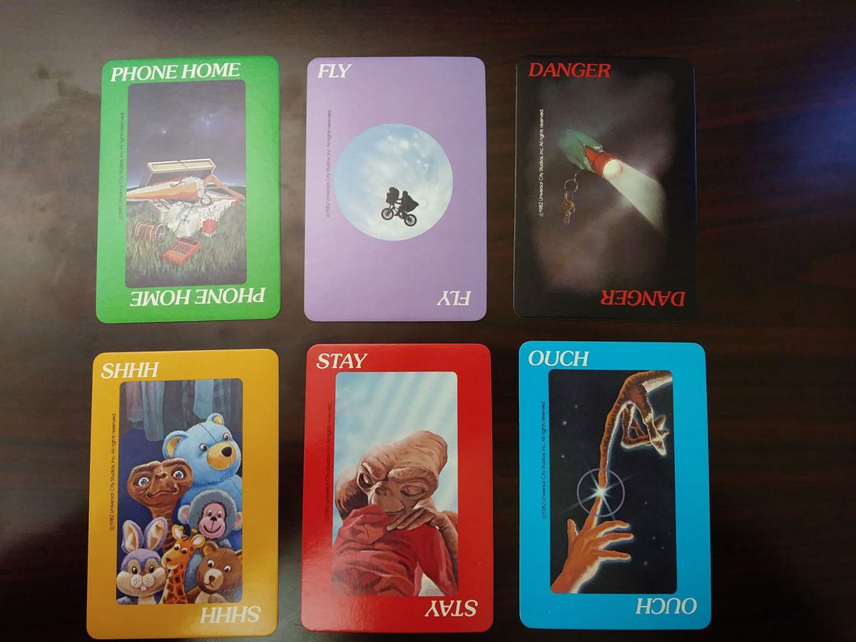 E.T. card selection