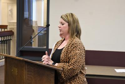 Shantel pitches to council