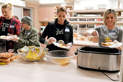 Community Unity Meal in Sioux Center
