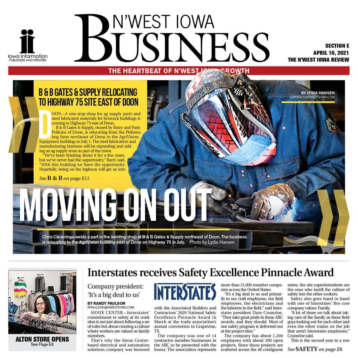 The N'West Iowa REVIEW Business April 10, 2021