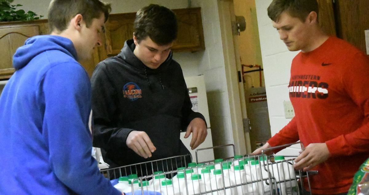 Lynott boys give back to community