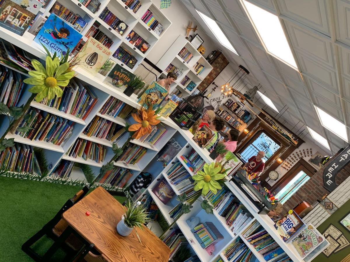 Maurice Book Bank interior