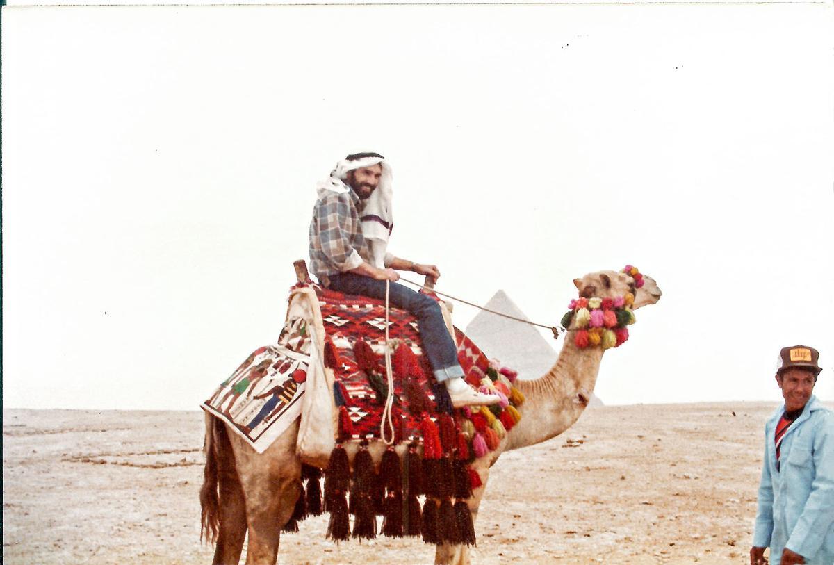 McDaniels in Egypt