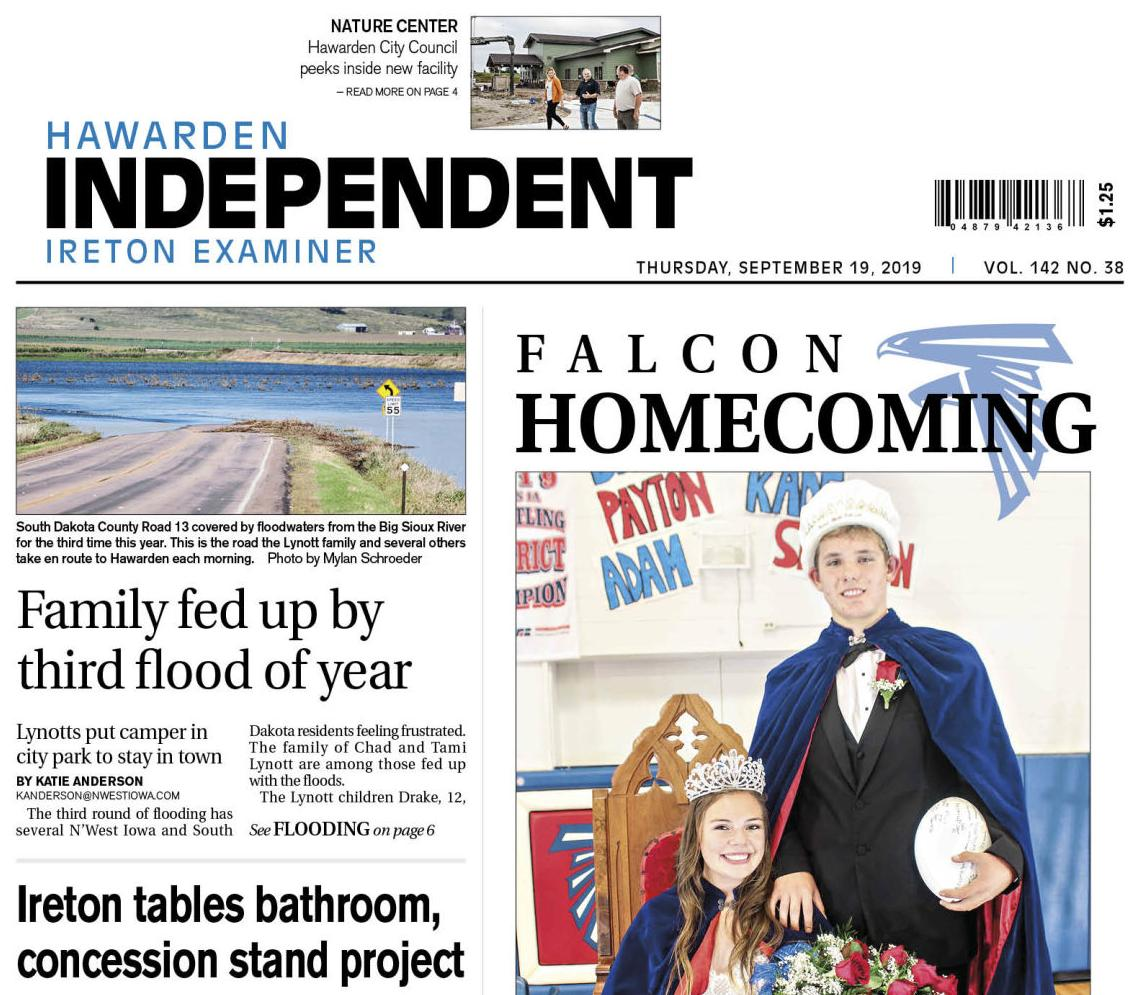Hawarden Independent/Ireton Examiner SEPT. 19, 2019