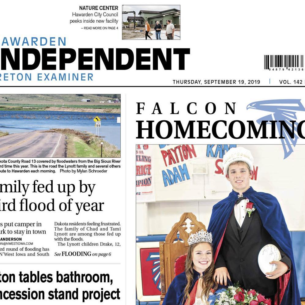 Hawarden Independent/Ireton Examiner SEPT. 19, 2019