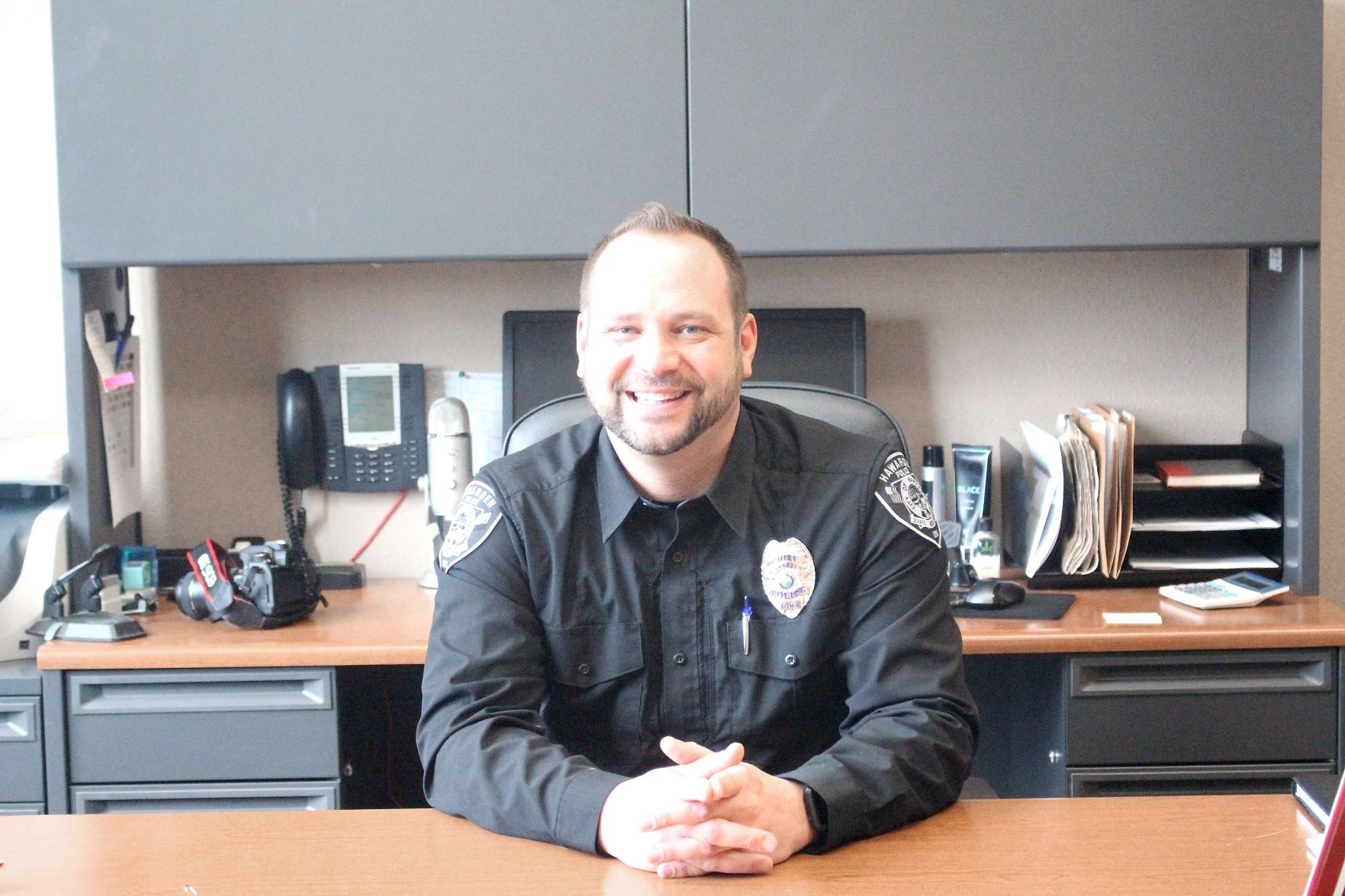 Police Chief gives opinion to council