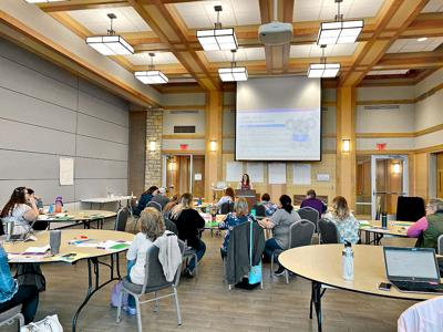 Seasons training at Crossroads Pavilion