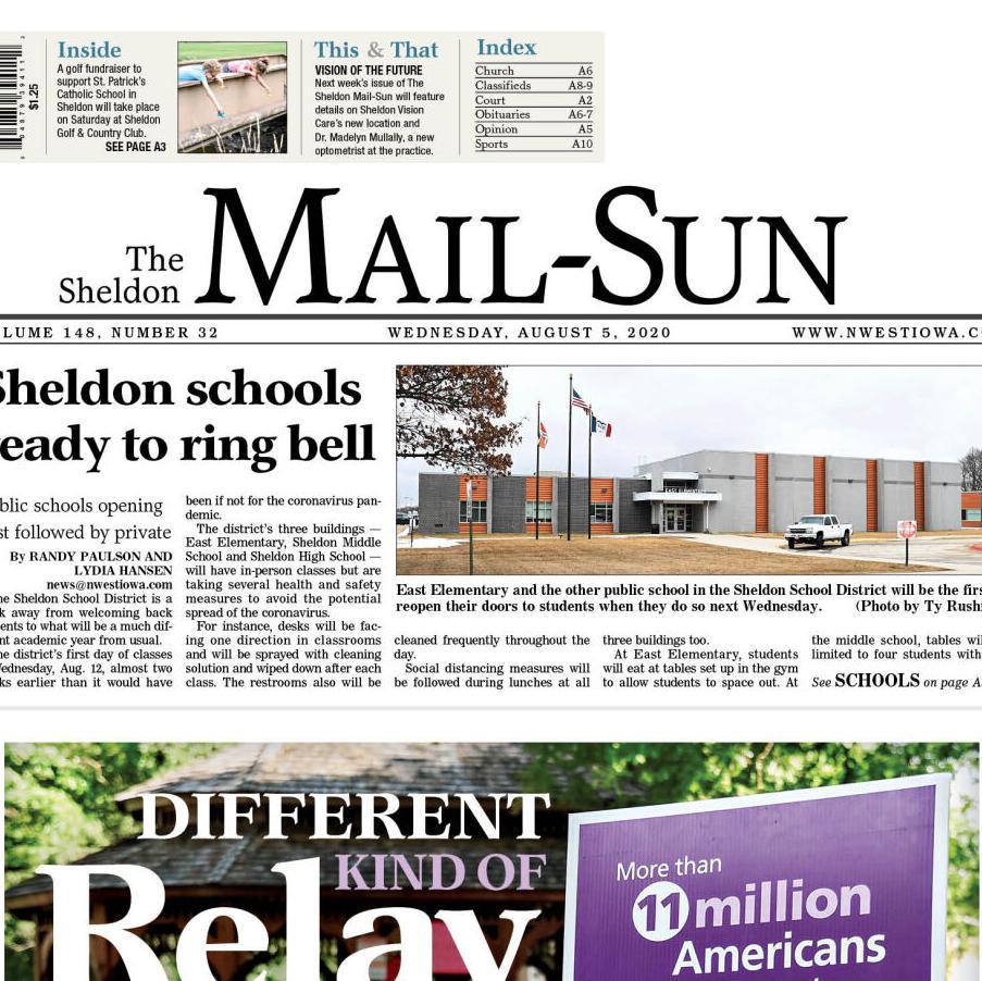 The Sheldon Mail-Sun Aug. 5, 2020