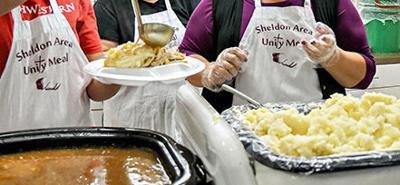Sheldon Area Unity Meal