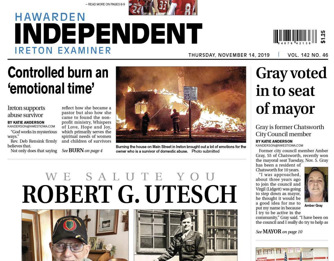Hawarden Independent/Ireton Examiner Nov. 14, 2019