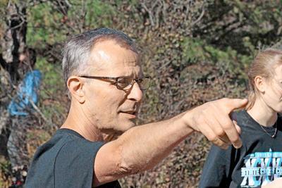 Kauk pointing