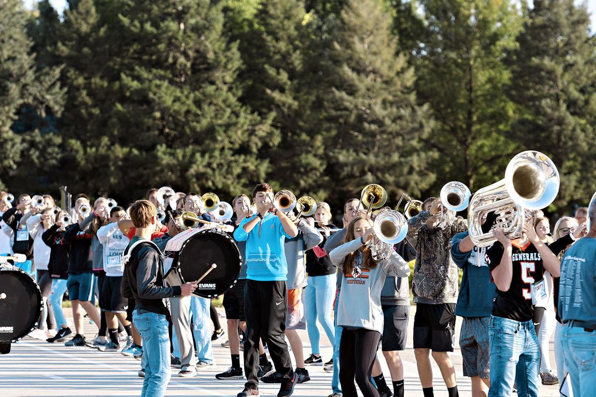 Sibley-Ocheyedan marching band