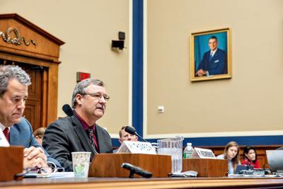 Kelly Nieuwenhuis testifies in D.C.
