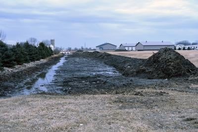 Sioux Center waterway is being cleared