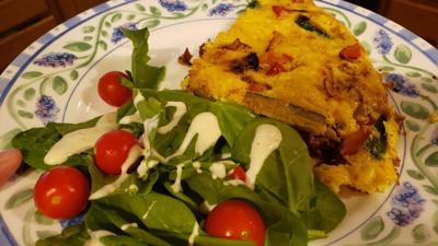 Meatless Monday Frittata