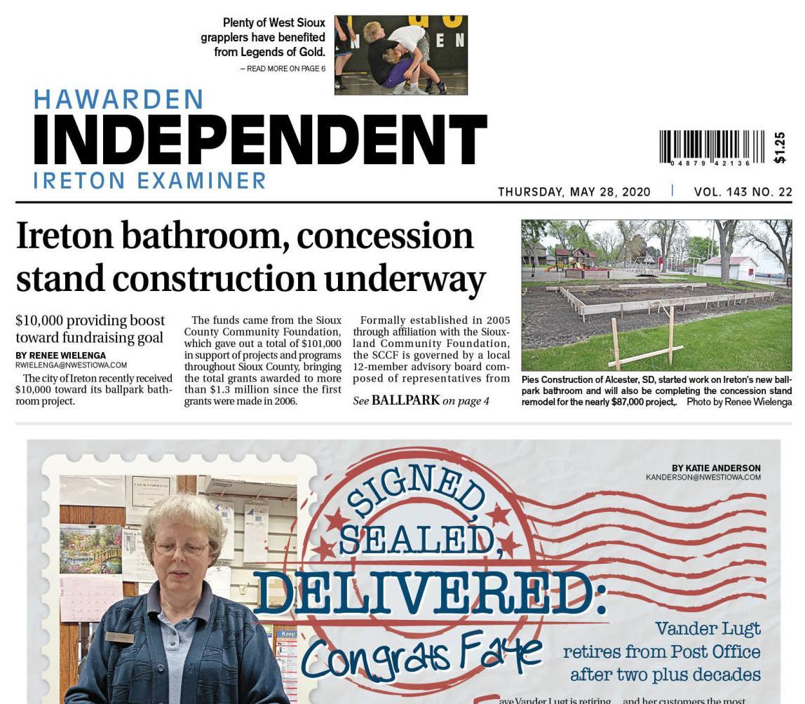 Hawarden Independent/Ireton Examiner May 28, 2020