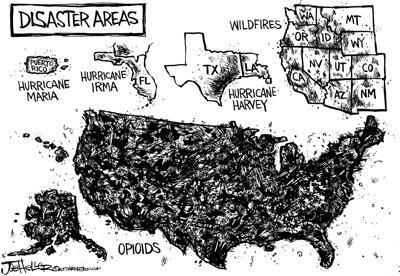 Spread of opioids