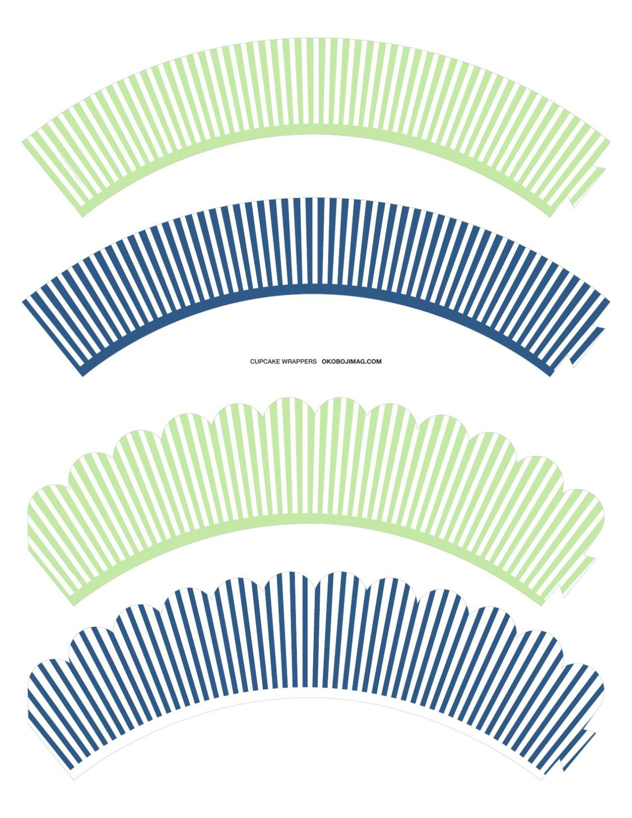 graphic relating to Free Printable Cupcake Wrappers referred to as Absolutely free Printable: Cupcake Wrappers Okoboji Freebies