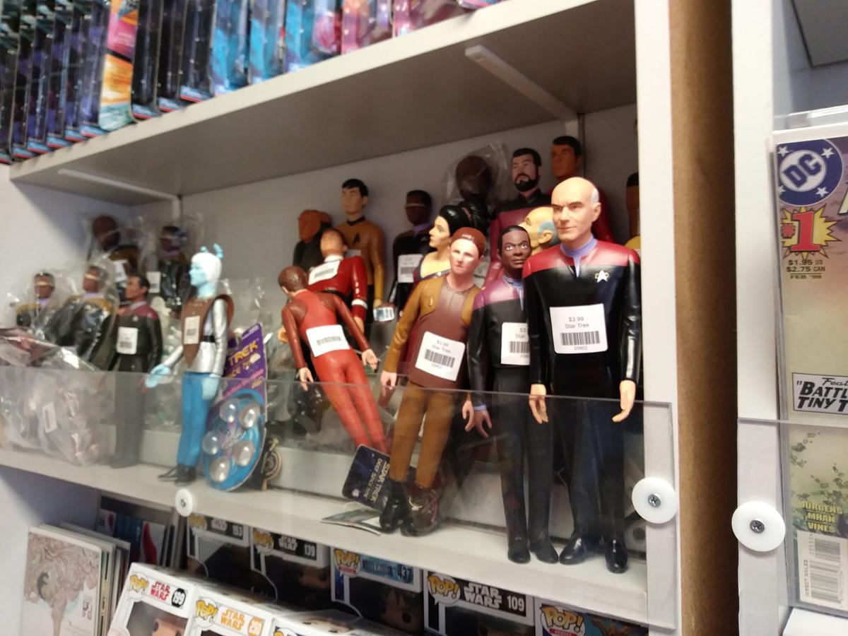 Star Trek in Yankton store