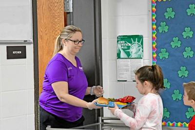Hospers Elementary holds lunch in classes