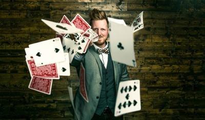 Magician John Michael Hinton
