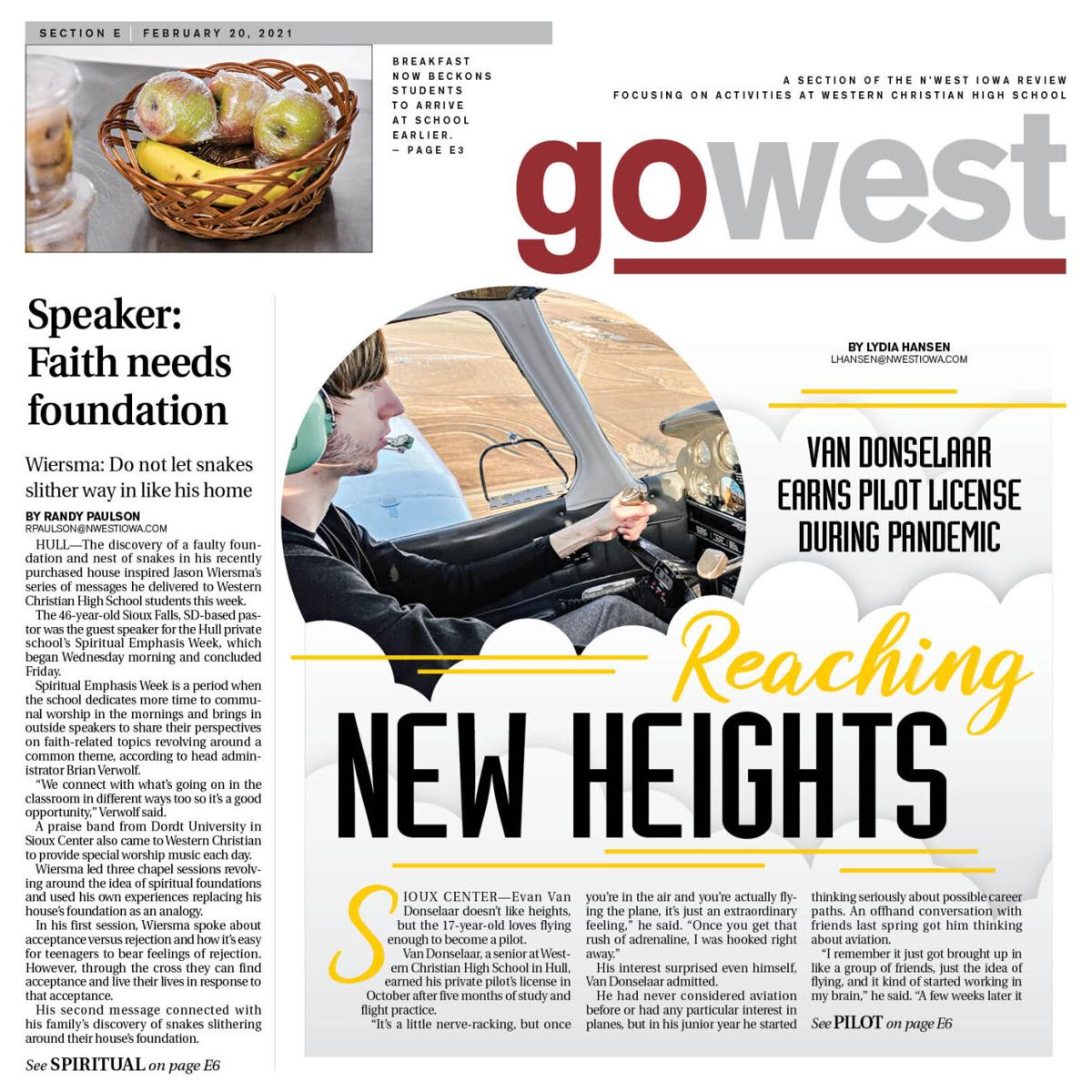 The N'West Iowa REVIEW Western Christian school section Feb. 20, 2021
