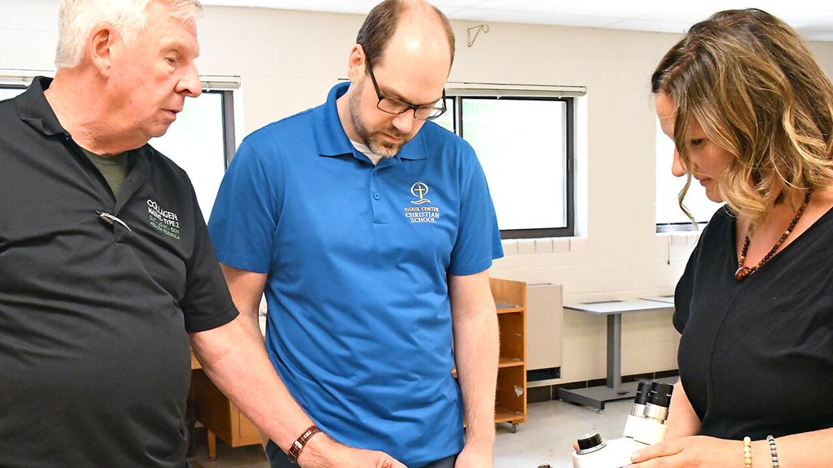 SiouxBio collaborates with Christian school
