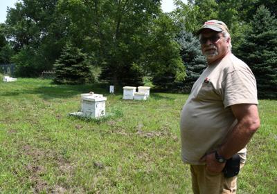 Dave Korver of  Walnut Grove Honey