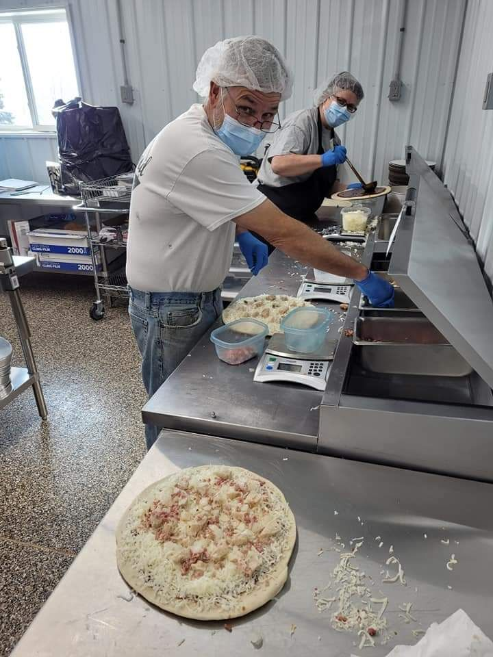 Larchwood dairy rolls out frozen pizzas
