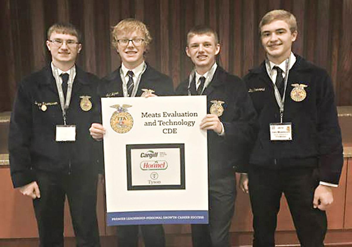 South O'Brien meats judges perform well