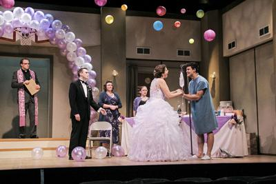 Texas-size antics fill the stage in wedding farce