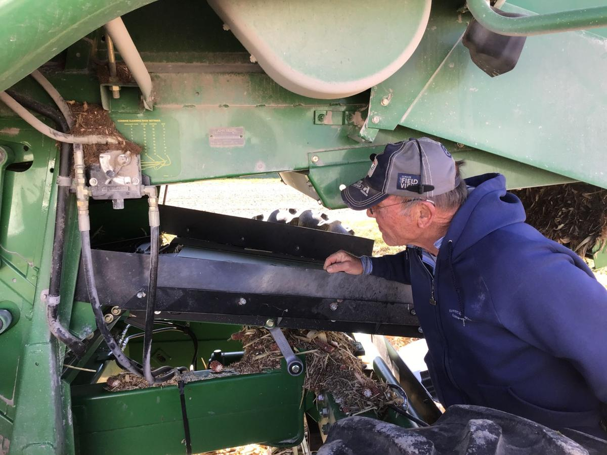 Checking the combine
