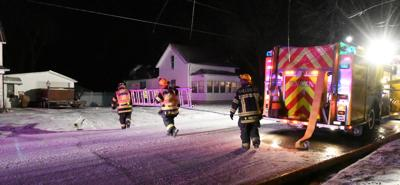 Sheldon firefighters called to house fire