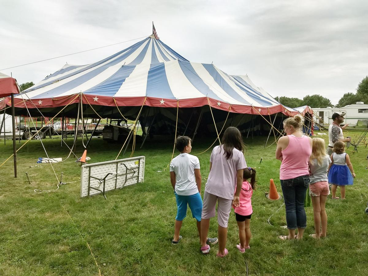 Circus sets up Aug. 2 in Sioux Center