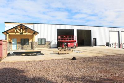 PR Construction new shop in Ireton