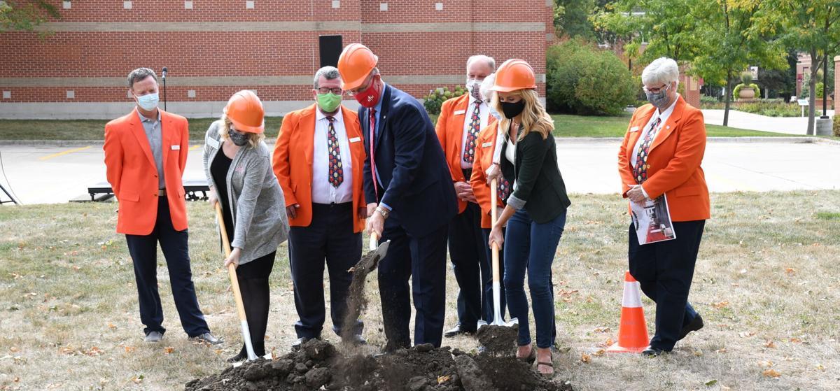 Ground breaking at Northwestern College