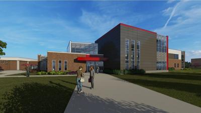 Rendering of renovation at NCC in Sheldon