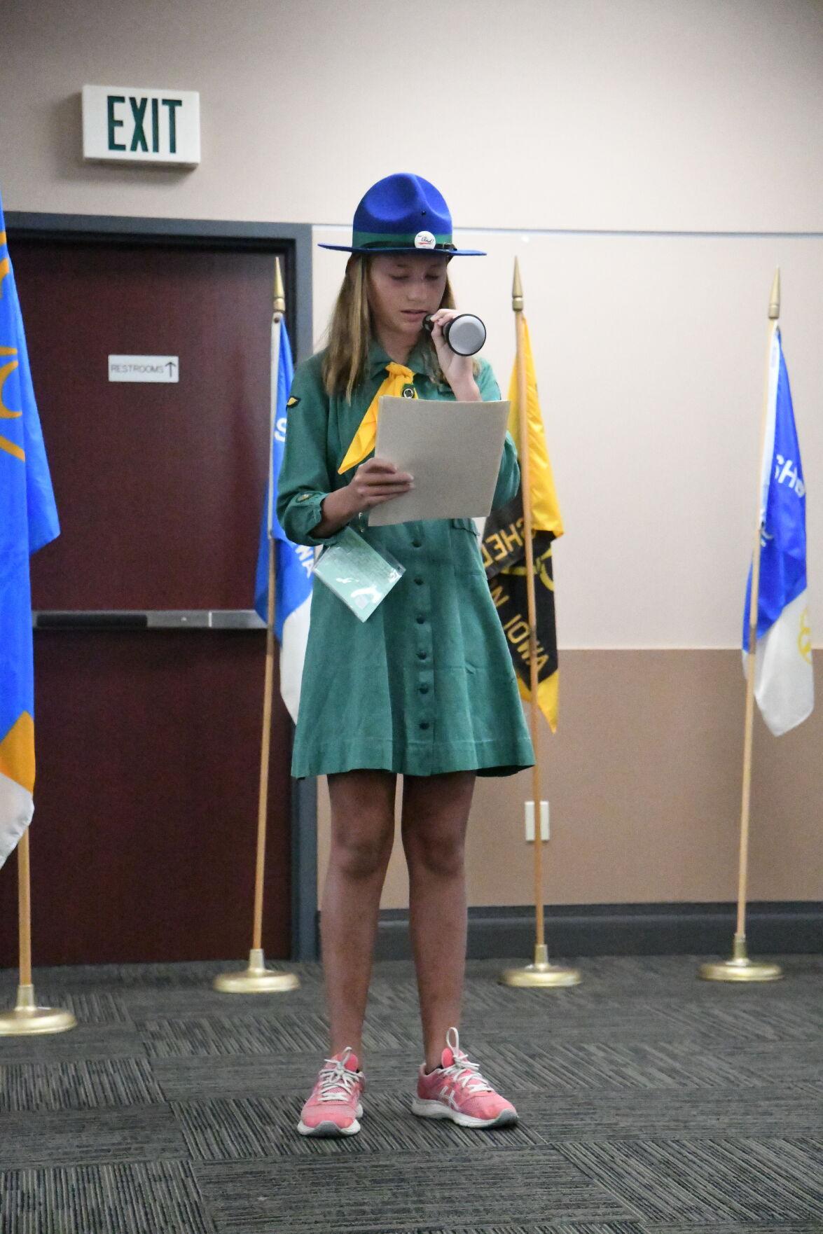 Theresa Nilles, Sheldon Girl Scouts