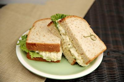 Chicken and Egg Salad Sandwiches