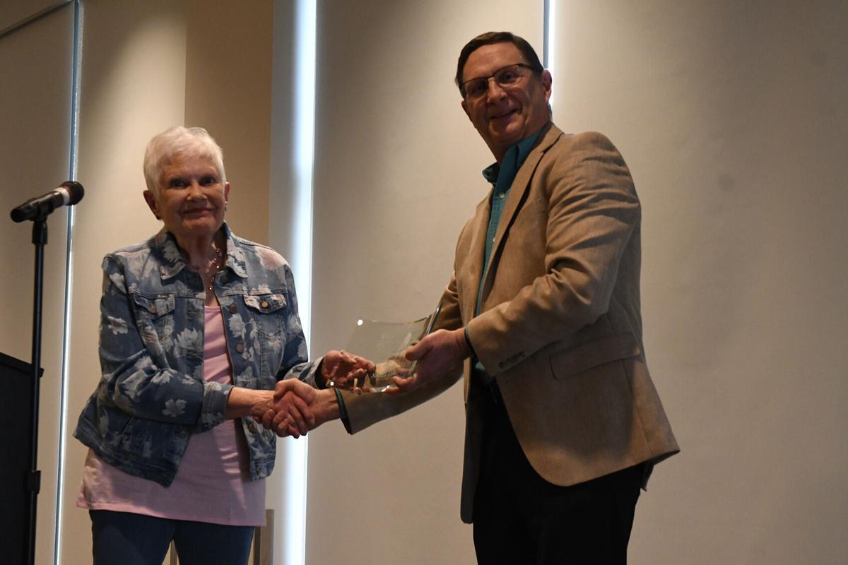 Joan Vander Hart given Community Service Award