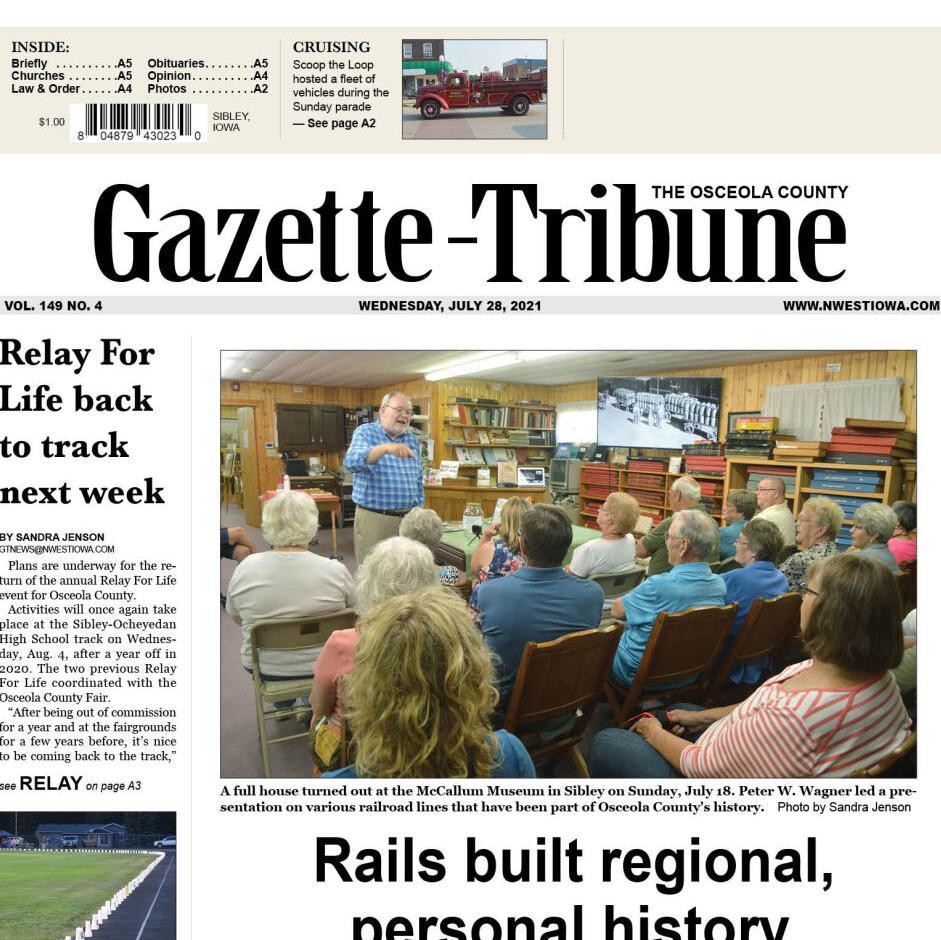 The Osceola County Gazette-Tribune July 28, 2021