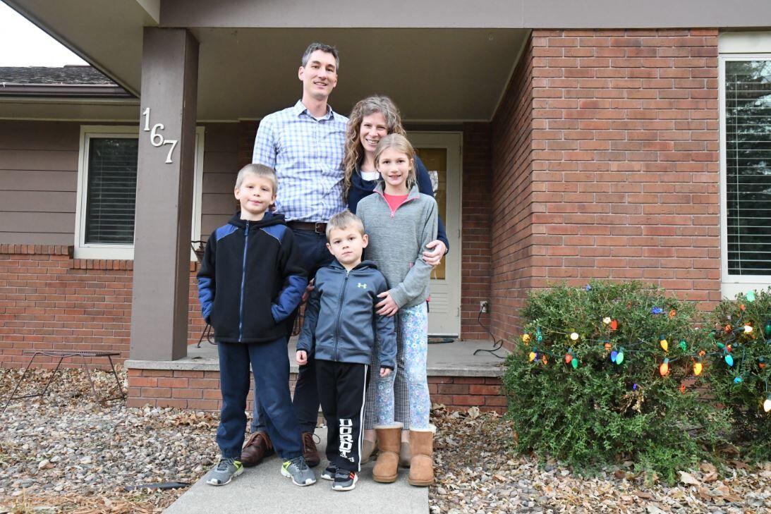 Clark family Thanksgiving